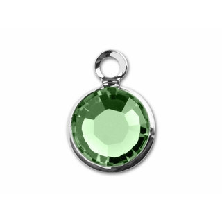 August Birthstone Channel Charm