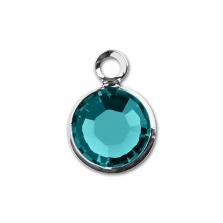 December Birthstone Channel Charm
