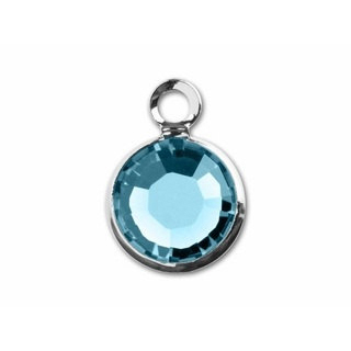 March Birthstone Channel Charm