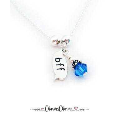 September BFF Necklace - Best Friends Forever Jewelry