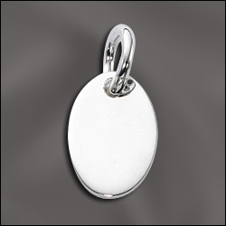 Oval Engravable Charm