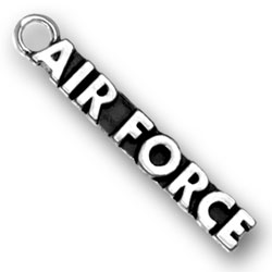 Sterling Silver US Air Force Charm