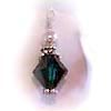 Birthstone Crystal Dangle Bicone or Diamond shaped