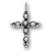 Beaded Cross Charm