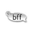 Sterling Silver Best Freidns Forever or BFF Charms
