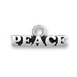 Silver Peace Charm