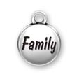 FAMILY Charm - Message Charms