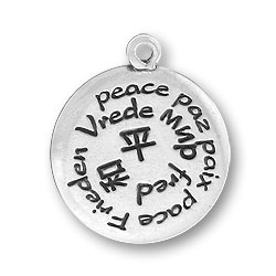 Peace in Many Languages Charm