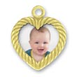 Gold Picture Frame CHarm